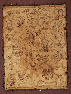 Herb Pillow * Gawthorpe Hall Textile Collection