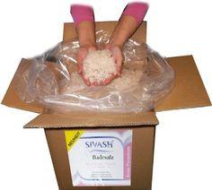 Unraffiniertes, naturbelassenes, mildes Meersalz von der Krim - SIVASH-rosa Badesalz, 5 kg (10 Bäder). Rosa Farbe dank Beta-Carotin aus der Mikroalge Dunaliella Salina. Schönes Badevergnügen auch bei Neurodermitis, Schuppenflechte, Rheuma von SIVASH, http://www.amazon.de/gp/product/B006BEVOYU/ref=cm_sw_r_pi_alp_03Rcrb0H7JT2M