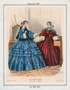 Le Bon Ton, November 1859.
