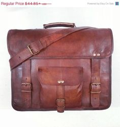 Mega Christmas Sale Distressed Vintage Leather by happyleather