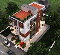 New Apartment Architecture Design Buildings Ideas Architecture Design, Architecture Magazines, Residential Architecture, Amazing Architecture, Cool Apartments, Apartment Design, Modern House Design, Building Design, Exterior Design