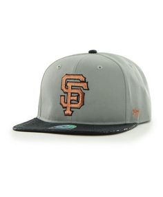 492d10dccb637 MLB San Francisco Giants  47 CAPTAIN Strapback Hat with Crocodile Print  Bill Detroit Game