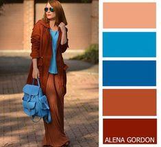 Color-Block Fashion by Alena Gordon Colour Combinations Fashion, Colour Blocking Fashion, Color Combinations For Clothes, Fashion Colours, Colorful Fashion, Color Combos, Color Blocking, Color Schemes, Mode Hippie