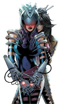 Psylocke and Lady Deathstrike by Greg Land                                                                                                                                                                                 More