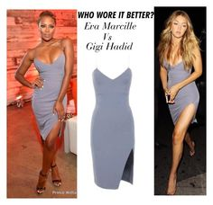 Who Wore It Better? Eva Marcille Vs Gigi Hadid
