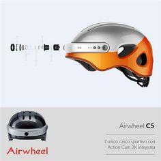 #Airwheel C5 smart #helmet, you deserve to own it