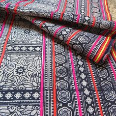 Handwoven cotton Vintage fabrics,  Indigo Blue, Hmong, Table runner- from Thailand on Etsy, $24.99