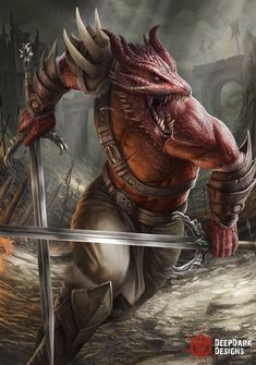 Dungeons And Dragons Characters, D&d Dungeons And Dragons, Dnd Characters, Fantasy Characters, Fantasy Warrior, Fantasy Rpg, Fantasy Artwork, Fantasy Character Design, Character Design Inspiration