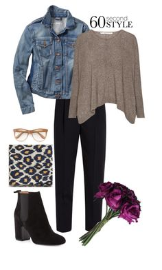 """""""Untitled #433"""" by johanavigu ❤ liked on Polyvore featuring Laurence Dacade, Alexander McQueen, Gap, Wildfox and MANGO"""