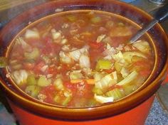 Keto friendly cabbage soup with hamburger is a delicious recipe, especially on a cold winter day when you need some soup to warm you up!