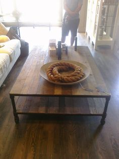 dutch industrial coffee table #restorationhardware  http://www.restorationhardware.com/