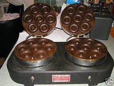 vintage doughnut machine - Google Search