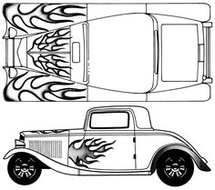 32 Ford blueprint #4