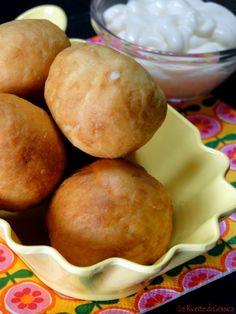 Palli di pane fritto filante- Ricetta Bimby