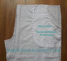 pijama bolsillo posicion Baby Clothes Patterns, Clothing Patterns, Sewing Patterns, Pajama Pants, Apron, Fashion, Dress Template, Scrappy Quilts, Tuto Couture Facile