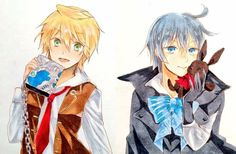 A crossover with Pandora Hearts