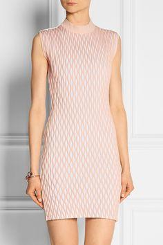 Balenciaga   Latticed stretch-jersey mini dress   NET-A-PORTER.COM