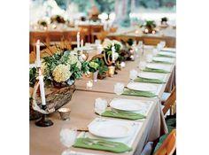 Centre table mariage bois cerf