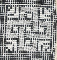 Jenny's Australian Needleart Journey: Filet Lace