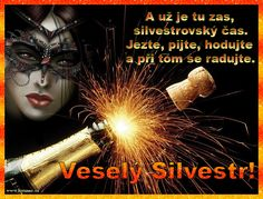 přání veselý Silvestr 008 animace Google Images, Happy New Year, Movie Posters, Movies, Czech Republic, Advent, Merry Christmas, Facebook, New Years Eve