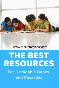 If you are seeking collections of decodable books or reading passages with decodable text, this post has compiled a large list for you! Check it out here! The Literacy Nest Reading Tutoring, Reading Fluency, Reading Intervention, Reading Passages, Teaching Reading, Teaching Ideas, Kindergarten Reading, Creative Teaching, Dyslexia Activities
