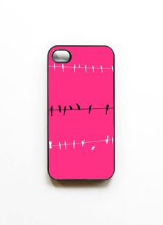 Iphone Case Pop of Pink Hot Pink Black by SSCphotographycases, $35.00