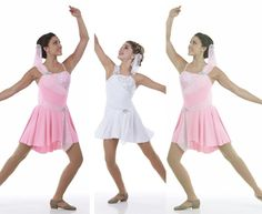 Dance Costume True Colors Ice Skating Lyrical Glitter Ballet Dress Front Lined  #Cicci