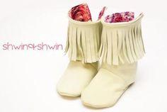 Fringe Baby Boots