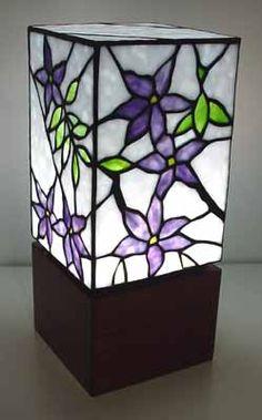 light box - lead-light style