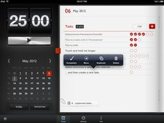 Pomodoro Plus HD - Time Management Tool for iPad on the iTunes App Store TAGS: #calendar