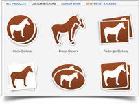 Iostoconvale Custom Sticker Cutting Arts Sticker Logos - Order custom stickers online