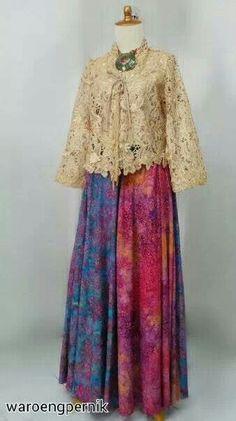 Rok batik bali mbak Atie..