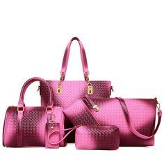 Buy 1 got 6 pieces Free shipping black/gold/grey/silver  womens handbag messenger shoulder bag clutches coin wallet key wallet