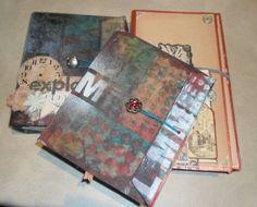 tim holtz ruler album | Materials Required.