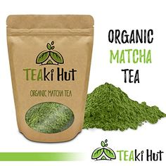 TEAki Hut Organic Matcha Green Tea Powder 2 Ounce (50 Servings) Culinary Grade | Excellent Weight Loss Benefits | More Antioxidants than Green Tea Bags | Best for Making Matcha Tea, Smoothies, Lattes ** You can find out more details at the link of the image.-It is an affiliate link to Amazon.