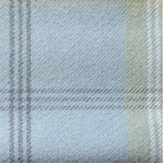 Balmoral Duck-Egg Tartan (Wool Feel) by P&S from Eden Fabrics