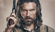 Anson Mount- Hell On Wheels....Got to love a man with a big gun ...