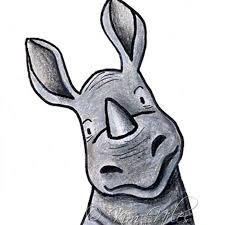 rhino illustration - Google Search