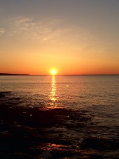 Sunrise Lake Superior Two Harbors, MN  Photo by: Jeanne Peloquin