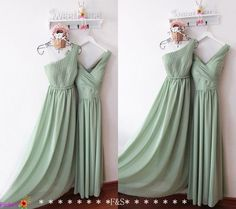 020cb19c67 Sage Bridesmaid Dresses 2016Long Sage Bridesmaid par FashionStreets