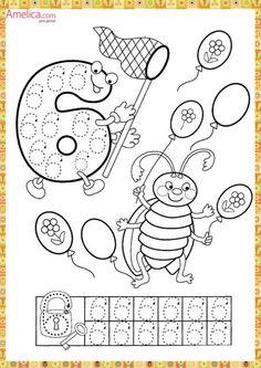 Preschool and Homeschool Preschool Printables, Preschool Worksheets, Learning Activities, Preschool Activities, Kids Learning, Kindergarten Lessons, Math Lessons, Pre K Worksheets, Handwriting Activities