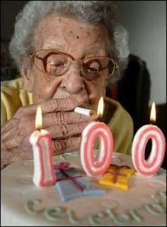 Was looking for birthday ideas for my Grandapa's upcoming 100th birthday and found this!  If Grandma was still alive she would totally have done this!  LOL!