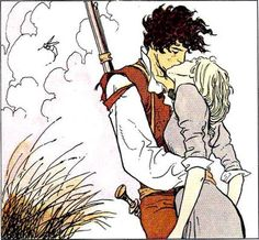 Hugo Pratt (writer), Milo Manara (artist) Tutto ricominciò con un'estate indiana (1985) Originally published in Corto Maltese magazine (Milano Libri, Rizzoli) #1-20 Random Panel »