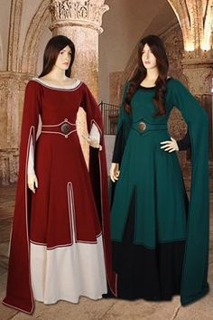 Medieval Natural Cotton Dress No. 98