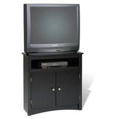 Prepac Furniture Btv-3232 Tall Corner Tv Cabinet