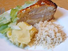 Gluténmentes sajtos pulykamell torta Grains, Rice, Food, Essen, Yemek, Jim Rice, Meals