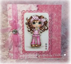 Handmade by Christine: HAPPY BIRTHDAY TO IN THE PINK!