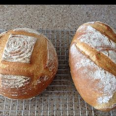 French Country Bread. home-made-food