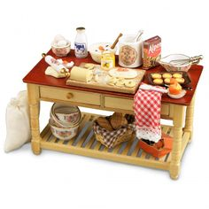 The Dolls House Emporium:  baking table
