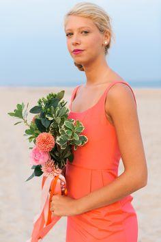 "LulaKate ""Emily"" dress in Azalea Faille // 2016 LulaKate bridesmaids // Kat Harris Photography // Beth Chapman Styling // Jennie Kay Beauty // Hana Floral"